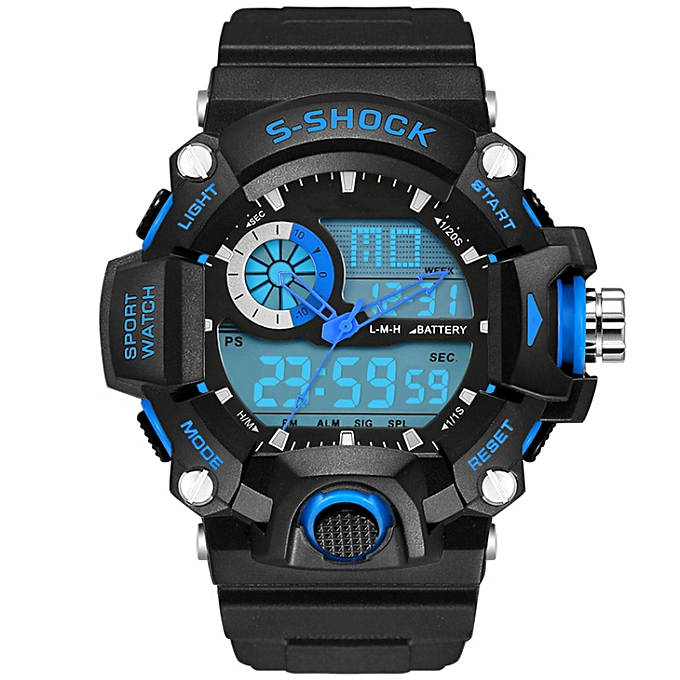 3e871e02f3a SMAEL Watch 1385 Men Sport Watch Cool Fashion Armbanduhren Brief Bright  Coloured Water S-Shock