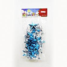 Blue & Silver Christmas Star