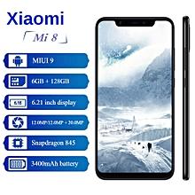 Xiaomi Mi 8 4G Phablet 6.21 inch Snapdragon 845 Octa Core 6GB RAM 128GB ROM - BLACK