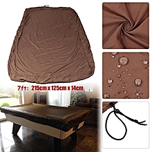 7ft Billiard Pool Table Cover Dust-proof Protective Cover Cloth for Snooker 7' Pool Table