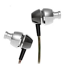 QKZ X8 Stereo Bass Earphone Double Moding Metal In ear HeadSet