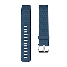 Band for Fitbit Charge2 Soft TPU Silicone Adjustable Replacement Strap Band for Fitbit Charge2 Smartwatch Replacement Wist Band with Small Hole