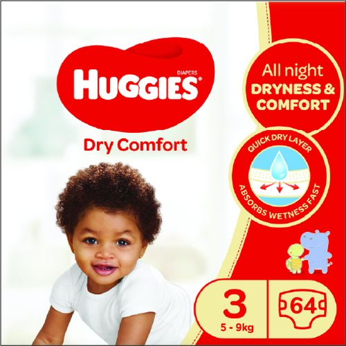 The #1 trusted diaper*, HUGGIES LITTLE MOVERS are designed for active babies. Featuring the latest addition to the HUGGIES MOVING BABY SYSTEM, the SIZEUP indicator, LITTLE MOVERS diapers let you know when its time for baby to move up to the next diaper size.