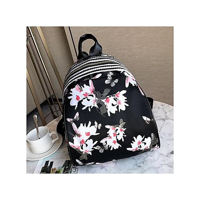 Women Girls Print Cute Preppy Style School Bag Travel Backpack Bag fd9763478f484