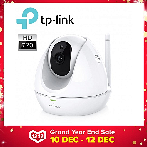 TP LINK HD Pan/Tilt Wi-Fi Camera WITH NIGHT VISION NC450 (White) XINJIN