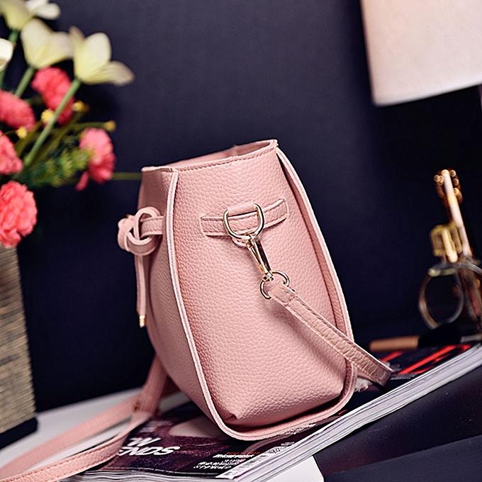 e3fbc8671e ... guoaivo Women Four Set Fashion Handbag Shoulder Bag Four Pieces Tote  Bag Crossbody Wallt ...