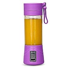 Portable Blender Juicer Cup / Electric Fruit Mixer-Purple