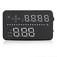 """VGEBY 3.5"""" Car Head Up Display A3 HUD OBD2 Interface Plug Play Vehicle Speed Warning System Part"""