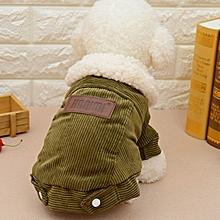 Berber Fleece Dog Jacket Warm Coat Winter Dog Clothes Outer Garment Outfit