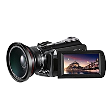 Winait UHD 4k WIFI digital video camera with 3.0'' touch display and 12 x  optical zoom digital camcorder LIEGE