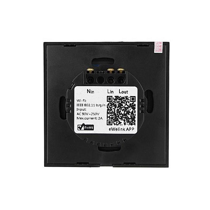 WIFI Smart Timer Wall Light Touch Remote Control Wall Switch With Amazon  Alexa EU/US Plug