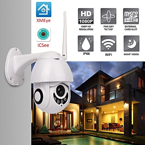 2 5inch 1080P MINI Wireless WIFI PTZ Speed Dome IP Camera Security Cameras  ICsee
