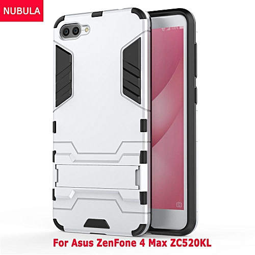 cheap for discount 527c3 af357 For Asus ZenFone 4 Max ZC520KL 360 Degrees Ultra-thin Hard Back Cover  Detachable 2 In 1 Hybrid Armor Shell Case Dual-Layer Full Protective  Shockproof ...