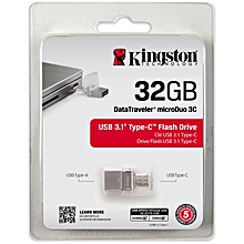 32GB Flash Disk - Silver
