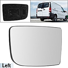 Wing Mirror Glass Slide On Left Right Side Upper For Mercedes Sprinter 06 On (left)