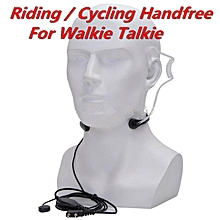 LEBAIQI  Motorcycle Riding /Cycling Walkie Talkie Handfree Finger PTT Button