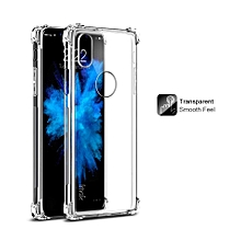 Imak TPU Airbag Shockproof Back Cover for Apple iPhone X Soft Silicone