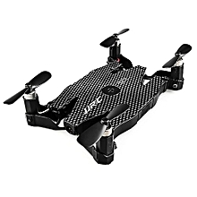 JJRC H49WH SOL Mini Foldable RC Quadcopter RTF WiFi FPV 720P HD / Altitude Hold / One Key Transformation_BLACK PLAID