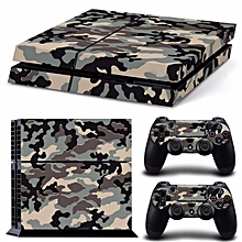 Fashion Skin Sticker For PS4 PlayStation 4 Console + 2 Controller Protector Skin
