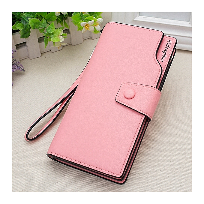 Women 11 Credit Card Holders 6 inches Cell Phone PU Leather Wallet Clutch  Wallet 58785b2393