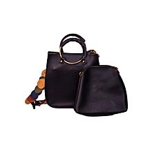 Sling Bag - Black - 2 Pieces