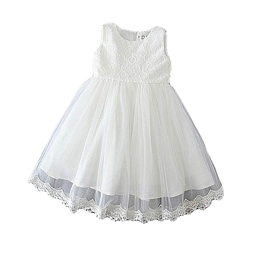 Anniversary Sales Buy Belle Baby Girl Party Dress White 4