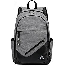 Casual School Backpack Laptop Bag Men's Backpack