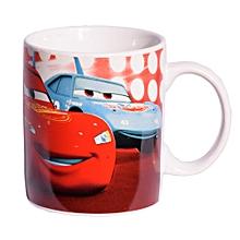 Red Ceramic Mug Branded Lighting McQueen