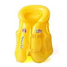 Hequeen 2017 New Arrival Pvc Inflatable Life Jackets Swimwear Children Safe Swimming Buoyancy Vest