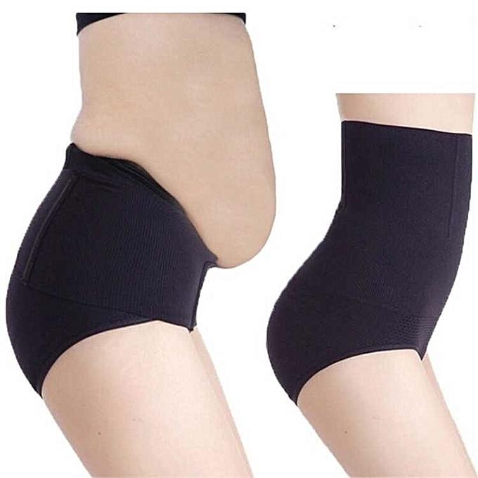 854a8fb99ec Seamless Women High Waist Slimming Tummy Belly Control Panties Postnatal Body  Shaper Corset Briefs Shapewear Girdle