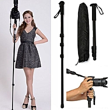 Camera Monopod Monopod Professional Aluminum Alloy With Pouch DSLR Travel Tripod Mount Stand
