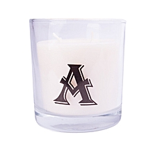 """Letter """"A"""" Alphabet Scented candle - White"""