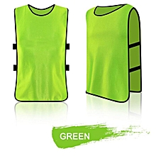 Football Training Vest Adult Children Grouping Soccer Jerserys Sport Pinnies