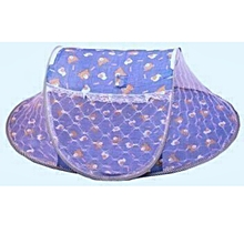 Baby Cot Mosquito Net - Sky Blue