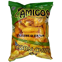 Corn Chips Cheese & Onion 20g