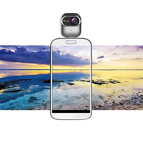 OPAI 360 Degree VR Panoramic HD Video Micro USB Camera for Samsung Huawei  Xiaomi