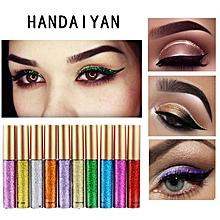 DEDC Waterproof Glitter Liquid Eyeliner Beauty Bright Flashing Eye Liner Quick To Dry