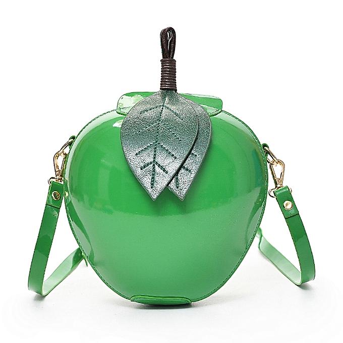 789d31ae6057 Fashion Women Apple Shape PU Leather Crossbody Bag Cute Cartoon Mini Messenger  Bags Shoulder Bag