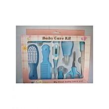 Elegant portable Baby Grooming Nursery care Healthy Kit - Blue