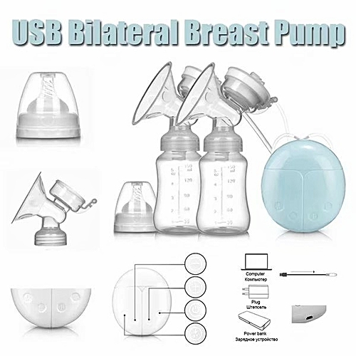 Automatic Double Electric breast pump- Intelligent BPA FREE