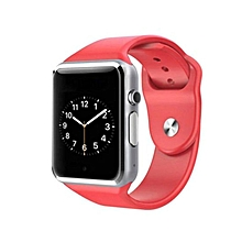 """A1 - 1.54"""" - Smart Watch Phone  - 128MB ROM - 64MB RAM - 0.3MP Camera - Red"""