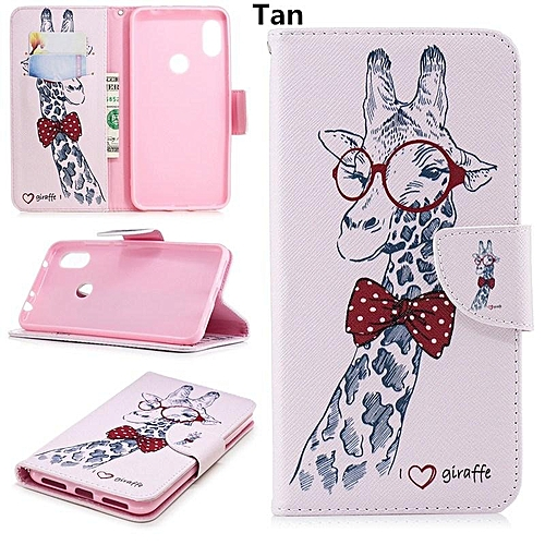 For Huawei Nova 3i Flower Butterfly Panda Giraffe Tree Feather Pattern  Wallet Leather Stand Tpu Cover Case For Huawei P Smart Plus Eu Version 6 3  Inch