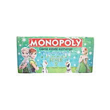 Frozen Monopoly Board Game - Green