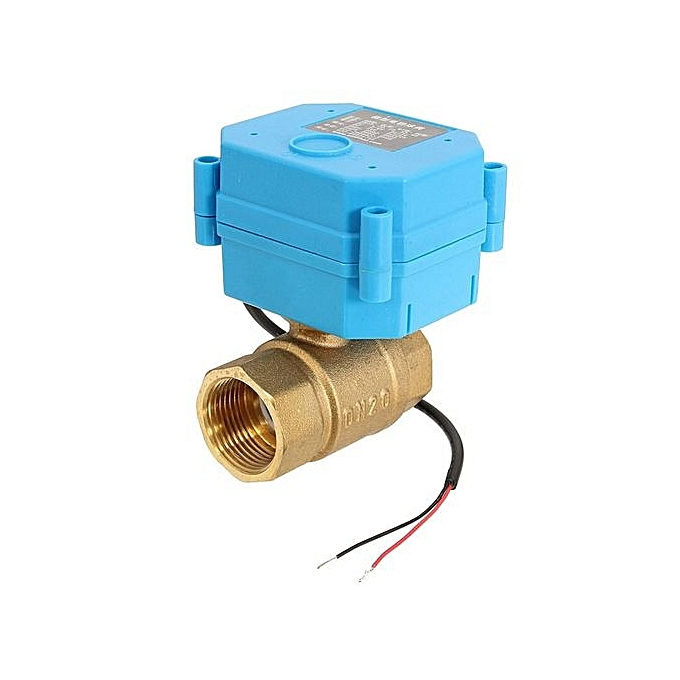 "... G3/4"" DN20 (reduce Port) DC12V 2 Way Control Motorized Electrical Ball ..."