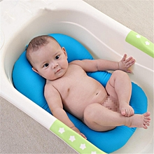 Bath Baby Tub Pillow Pad Air Cushion Floating Soft Seat Infant Newborn Safe Mat