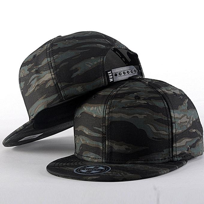 2e1ad26d6ac Men Women Baseball Camouflage Cap Snapback Hat Hip-Hop Adjustable D