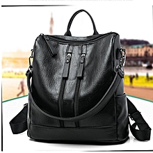 Fashion Women's Backpack Travel Leather Handbag Rucksack School Shoulder Bag