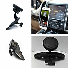 Universal Magnet Car CD Slot Holder Mount Stand For GPS MP4 5 & Mobile Phone New