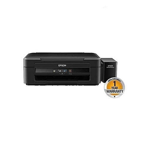 L382 InkTank System Printer - Black