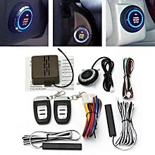 8x Car Alarm Start Security System Key Passive Keyless Entry Push Button Remote